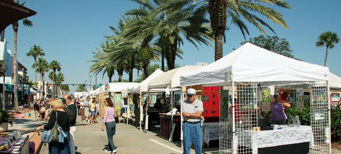 Halifax Art Festival 2012 - 3 & 4 November - Beach Street, Daytona Beach, FL